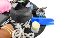 Beach Items Still Life Stock Image