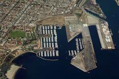 Beach-Jachthafen lizenzfreies stockfoto