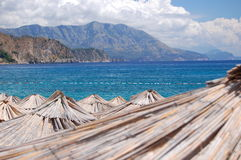 Beach Jaz in Montenegro Stock Image