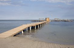 Beach Jetty Royalty Free Stock Images