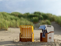 The beach of Juist Royalty Free Stock Photos
