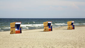 Beach in Jurata. Baltic sea. Poland Stock Photo