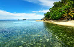 Beach on Kadidiri island. Togean Islands. Indonesia. Royalty Free Stock Images