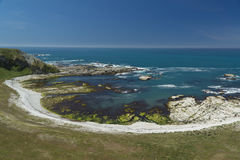 Beach in Kaikoura, New Zealand Stock Photo