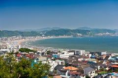 Beach at Kamakura Stock Image