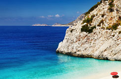 Beach Kaputas, Turkey Royalty Free Stock Photos