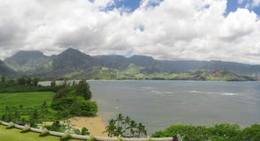 Beach on Kauai island, Hawaii Royalty Free Stock Photo