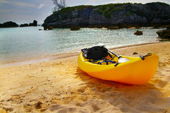 Beach kayak Stock Photo