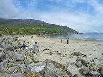 Beach at Keem Bay Royalty Free Stock Photo