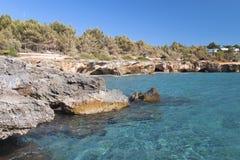 Beach at Kefalonia island in Greece Stock Photos