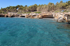 Beach at Kefalonia island in Greece Stock Photo
