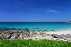 Beach in the kenting national park Royalty Free Stock Photography