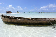 Beach in Kenya Stock Photography
