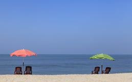 On the beach of kerala Stock Image