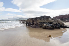 Beach in Kerry, Ireland Royalty Free Stock Image