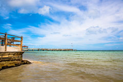 Beach at Key West. Great beach scene at Key West Royalty Free Stock Image