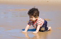 Beach kid Royalty Free Stock Photos