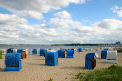Beach in Kiel, Germany Stock Photography