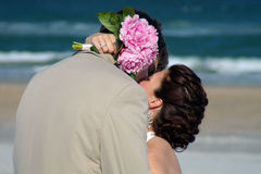 Beach kiss Stock Photography