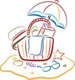 Beach kit Royalty Free Stock Image
