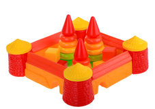Beach kit with towers and pyramids Stock Photo