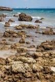 Beach of Ko Lan Island Stock Photo