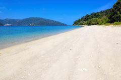 Beach in Ko Lanta, Thailand Royalty Free Stock Photo
