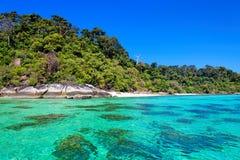Beach in Ko Lanta, Thailand. Beach in Ko Lanta, Krabi province of Thailand Royalty Free Stock Photos