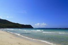 The beach at Koh Lan Island Royalty Free Stock Photography