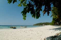 Beach at Koh Le Pe .Thailand Royalty Free Stock Photography