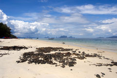 Beach Koh Naka Noi island Royalty Free Stock Photography