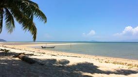 Beach at koh Phangan. Beautiful paradise beach at koh Phangan, Thailand stock video