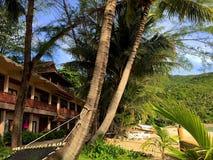 Koh Phangan. Beach in Koh Phangan royalty free stock photos