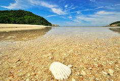 Beach in Koh Phangan. Koh Ma, Thailand, Asia royalty free stock images