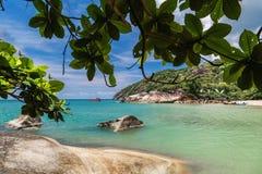 Beach on Koh Phangan. Thailand stock image