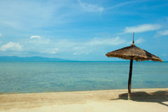 Beach in Koh Phangan Thailand Stock Image