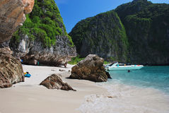 Beach on Koh Phi Phi Royalty Free Stock Photo