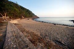 Beach on Koh Phitak island,Thailand. Stock Photography