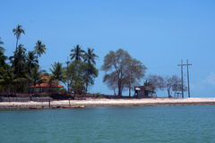 Beach on Koh Phitak island,Thailand. Stock Photo