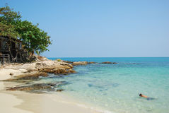 Beach at Koh Samet Royalty Free Stock Images