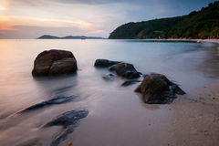 Beach on Koh Samet Royalty Free Stock Photography