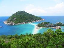 Beach in Koh Tao, Thailand. Nang Yuan beach in Koh Tao island, Thailand Stock Photography