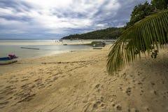 On the beach at Koh Tao, Thailand Stock Image