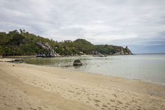 On the beach at Koh Tao, Thailand Stock Images
