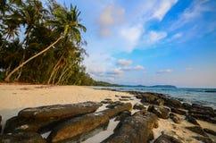 Beach at Kood island, Thailand Royalty Free Stock Photo