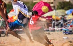 Beach Korfball Tournament Stock Images
