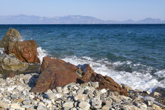 Beach in Kos, Greece. Stock Images