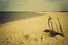 Beach in Kouchibouguac National Park Royalty Free Stock Image
