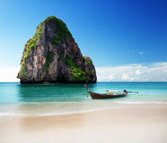 Beach in Krabi province Stock Photos