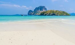 Beach in Krabi Thailand. Stock Photo